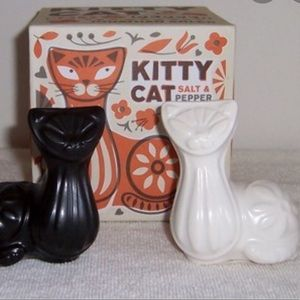 Jonathan Adler kitty sat and pepper shakers